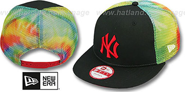 Yankees 'MESH TYE-DYE SNAPBACK' Hat by New Era
