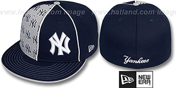 Yankees 'MULTIPLY' Navy-Grey Fitted Hat by New Era