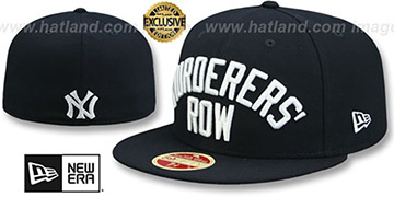 Yankees 'MURDERERS ROW' CALLOUT Navy Fitted Hat by New Era