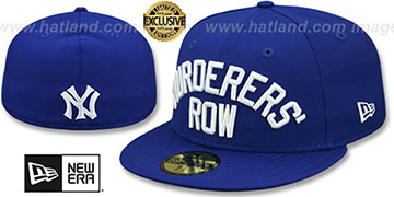 Yankees 'MURDERERS ROW' Royal Fitted Hat by New Era