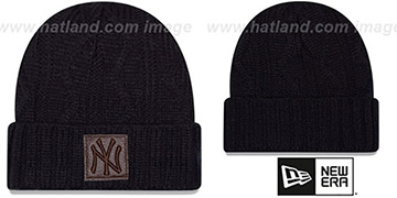 Yankees 'OHANA' Navy Knit Beanie Hat by New Era