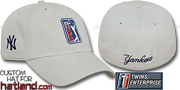 Yankees 'PGA FRANCHISE' Hat by Twins - stone