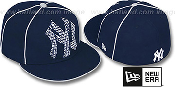 Yankees 'REPEAT BIG-ONE' Navy Fitted Hat by New Era
