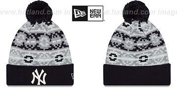 Yankees 'RETRO CHILL' Knit Beanie Hat by New Era
