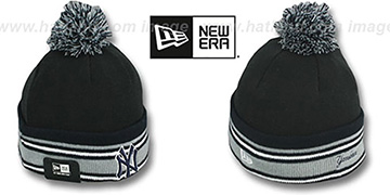 Yankees 'SPORT-KNIT' Black-Navy Beanie Hat by New Era