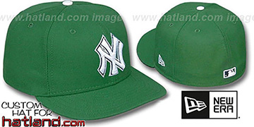 Yankees 'St Patricks Day' Fitted Hat by New Era