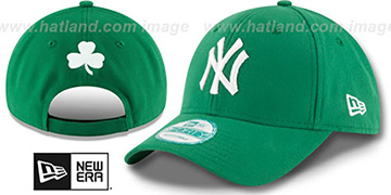 Yankees 'ST PATRICKS DAY' Green Strapback Hat by New Era
