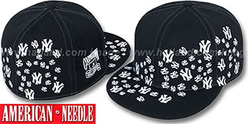 Yankees 'STARSTRUCK' Black Fitted Hat by American Needle