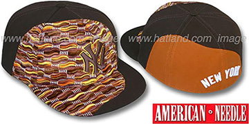 Yankees 'SWEATER SWIRL' Brown Hat by American Needle