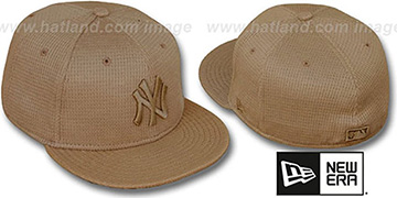 Yankees 'THERMAL WHEATOUT' Fitted Hat by New Era