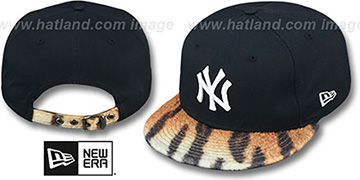 Yankees 'TIGER ANIMALISTIC-FUR VIZA STRAPBACK' Hat by New Era
