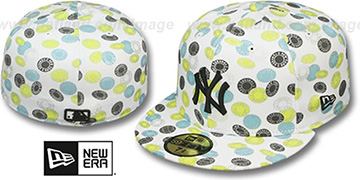Yankees 'TOKENS' White-Pastel Fitted Hat by New Era