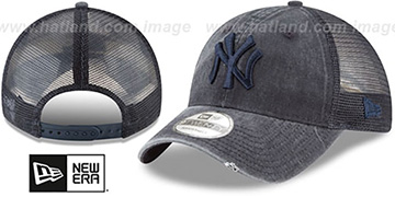 Yankees 'TONAL-WASHED TRUCKER SNAPBACK' Navy Hat by New Era