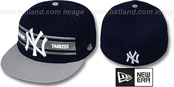 Yankees 'TRIBAND' Navy-Grey Fitted Hat by New Era
