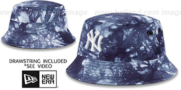 Yankees 'TYE-DYE ZONE' Bucket Hat by New Era