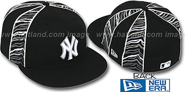 Yankees 'URBAN JUNGLE' Black Fitted Hat by New Era