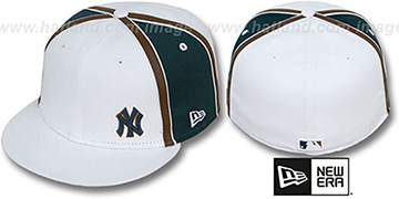 Yankees 'WILLIAM-III FLAWLESS' White-Navy Fitted Hat by New Era