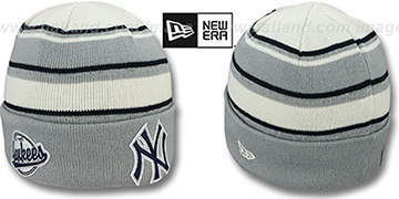 Yankees 'WINTER TRADITION' Knit Beanie Hat by New Era